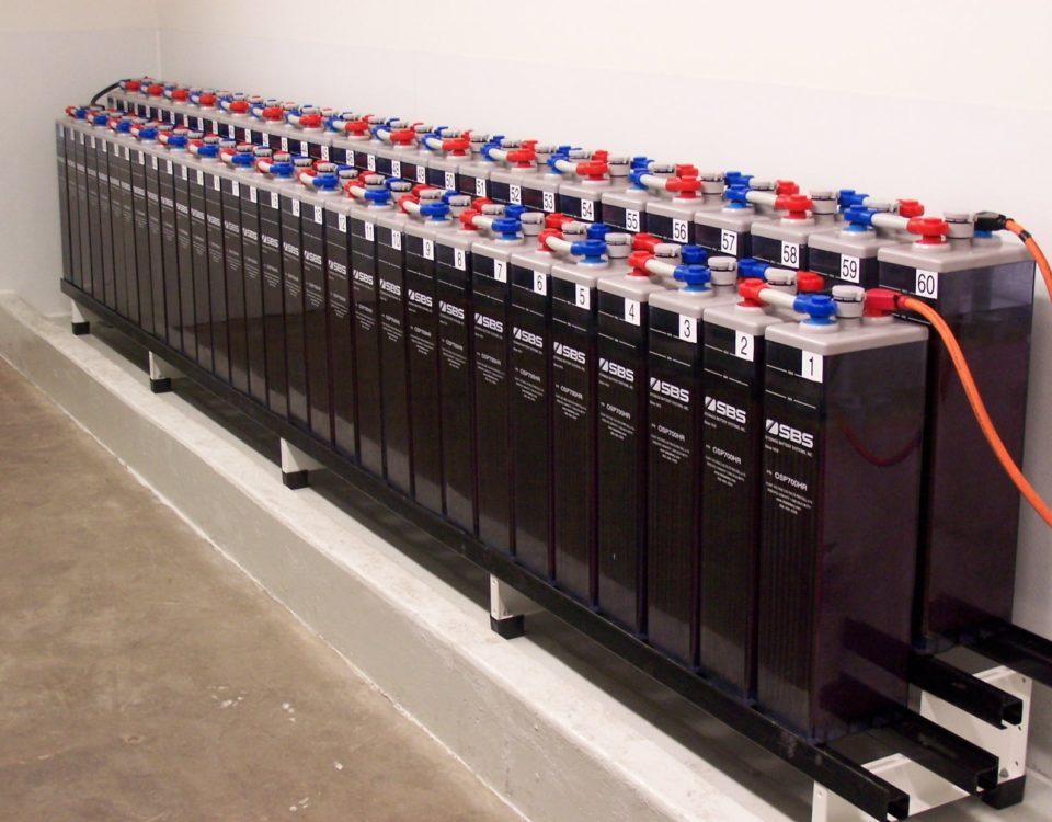 Accumulo fotovoltaico batterie