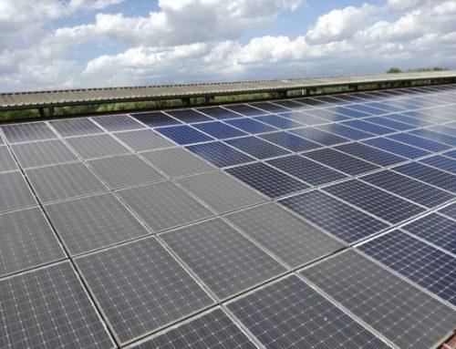 Problemi di sporcizia dei pannelli di un impianto fotovoltaico da 100 kW